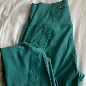 Teal Lulu leggings